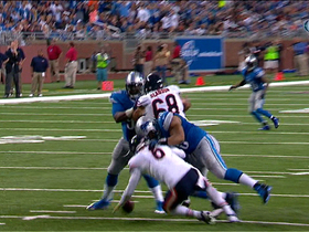 Video - Detroit Lions defensive tackle Nick Fairley fumble recovery TD