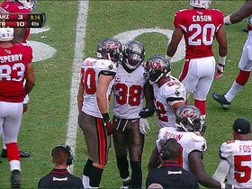 Video - Tampa Bay Buccaneers safety Dashon Goldson runs 22-yards on a fake punt