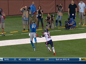 Video - Detroit Lions wide receiver Calvin Johnson jump-ball TD catch