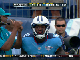 Video - Tennessee Titans quarterback Jake Locker 1-yard touchdown pass to Delanie Walker