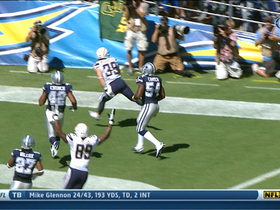 Video - San Diego Chargers running back Danny Woodhead 26-yard TD catch