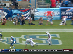 Video - Tennessee Titans wide receiver Nate Washington 4-yard touchdown catch