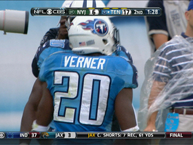 Video - Tennessee Titans defensive back Alterraun Verner's second interception