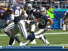 Video - Dallas Cowboys linebacker Sean Lee picks off Philip Rivers for six
