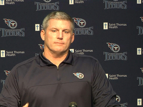Video - Mike Munchak on Jake Locker's injury: Early signs encouraging