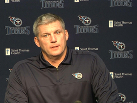 Video - Tennessee Titans head coach Mike Munchak: Hits were totally unnecessary