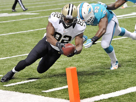 Video - New Orleans Saints tight end Benjamin Watson 4-yard touchdown