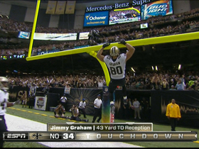 Video - New Orleans Saints tight end Jimmy Graham 43-yard touchdown