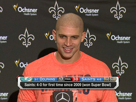 Video - New Orleans Saints tight end Jimmy Graham: Drew Brees is a special quarterback