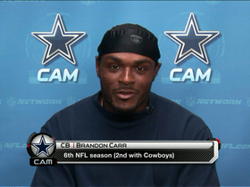 "Video - Dallas Cowboys cornerback Brandon Carr: ""We're up for the challenge"""