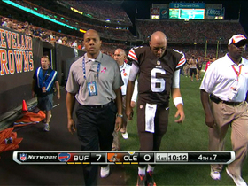 Video - Cleveland Browns quarterback Brian Hoyer injured in first quarter