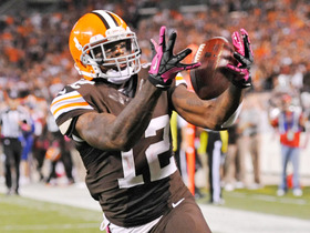Video - Cleveland Browns wide receiver Josh Gordon 37-yard touchdown