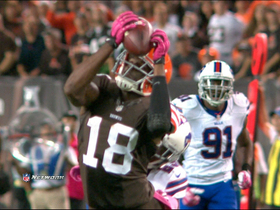 Video - Cleveland Browns wide receiver Greg Little 47-yard catch