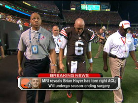 Video - Hoyer to undergo season-ending surgery