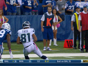 Video - Seattle Seahawks quarterback Russell Wilson hits wide receiver Golden Tate for a TD