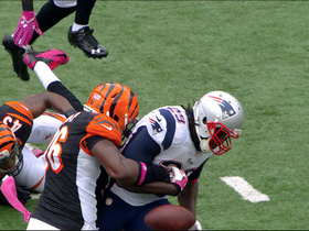 Video - New England Patriots running back LeGarrette Blount fumbles