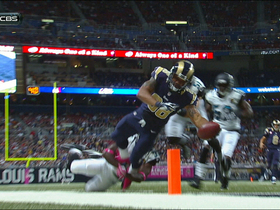 Video - St. Louis Rams tight end Lance Kendricks leaping 16-yard touchdown
