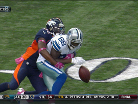 Bryant fumble recovered by the Broncos