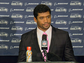 Video - Seattle Seahawks quarterback Russell Wilson: We will get better