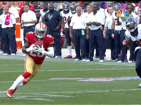 Video - San Francisco 49ers cornerback Tramaine Brock takes an INT to the house