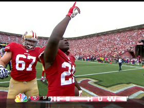 Video - San Francisco 49ers running back Frank Gore runs it in for a 1-yard TD