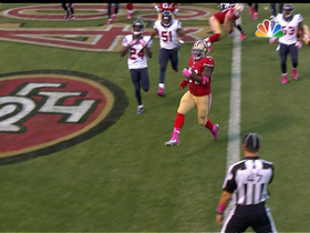 Video - San Francisco 49ers running back Anthony Dixon 2-yard TD