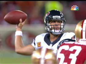 Video - Houston Texans quarterback Matt Schaub throws third INT