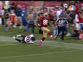 Video - San Francisco 49ers tight end Vernon Davis 64-yard TD