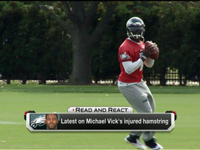 Video - Philadelphia Eagles QB Michael Vick doubtful, but offense won't change