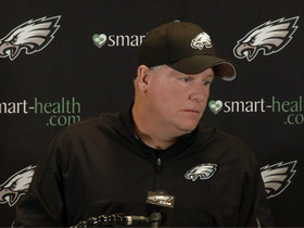 Video - Philadelphia Eagles head coach Chip Kelly: We'll wait till the very last second to decide who starts