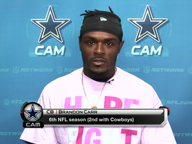 Video - Brandon Carr: Washington Redskins' Robert Griffin III does not look the same