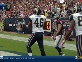 Video - St. Louis Rams tight end Cory Harkey 2-yard TD catch