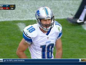 Video - Detroit Lions wide receiver Kris Durham 24-yard leaping catch
