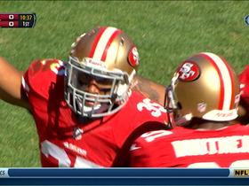 Video - San Francisco 49ers rookie safety Eric Reid picks off Arizona Cardinals QB Carson Palmer