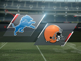 Video - Week 6: Detroit Lions vs. Cleveland Browns highlights