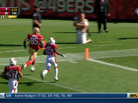 Video - San Francisco 49ers tight end Vernon Davis 61-yard TD catch