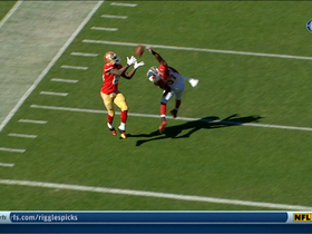 Video - San Francisco 49ers tight end Vernon Davis 2nd TD catch of game