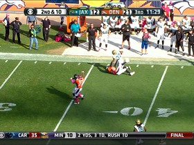 Video - Jacksonville Jaguars running back Maurice Jones-Drew 28-yard run