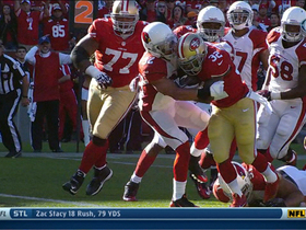 Video - San Francisco 49ers running back Kendall Hunter 6-yard TD run