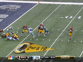 Video - Dallas Cowboys defensive end Kyle Wilber fumble recovery