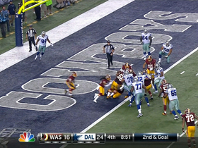 Video - Dallas Cowboys running back Joseph Randle 1-yard touchdown run