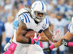 Video - Indianapolis Colts running back Trent Richardson breaking tackles