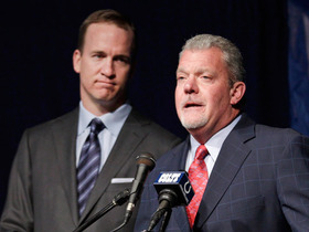 Video - Indianapolis Colts owner Jim Irsay's relationship with Peyton Manning
