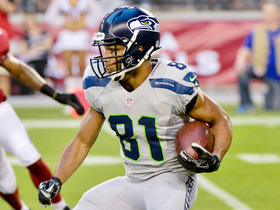 Video - Seattle Seahawks wide receiver Golden Tate 25-yard gain
