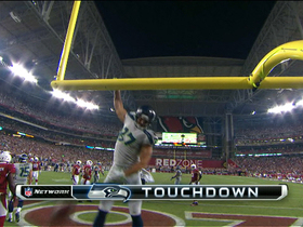 Video - Seattle Seahawks quarterback Russell Wilson 1-yard touchdown pass