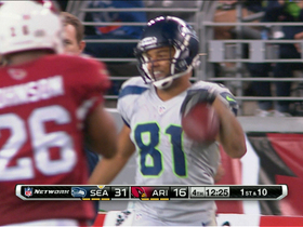 Video - Seattle Seahawks wide receiver Golden Tate 32-yard reception