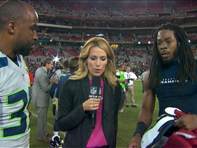 Video - Brandon Browner and Richard Sherman: We're competing all the time