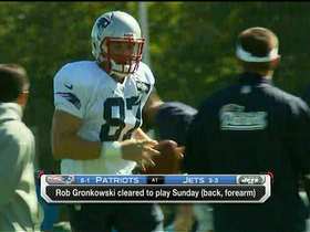 Video - New England Patriots tight end Rob Gronkowski ready for big role