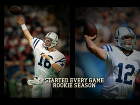 Video - The similarities between Indianapolis Colts QB Andrew Luck and Denver Broncos QB Peyton Manning
