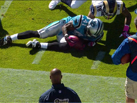 Video - Carolina Panthers cornerback Captain Munnerlyn recovers Tavon Austin fumble